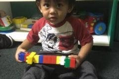 Legos and babies go hand-in-hand.